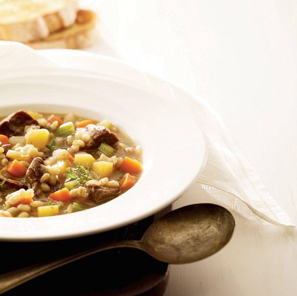 Soupe-repas au Bœuf et à L'orge