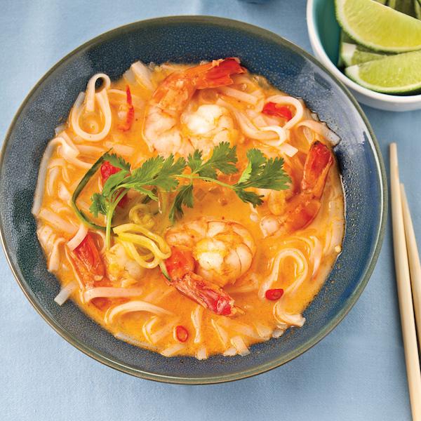 Soupe-Repas aux Crevettes Délicieusement Parfumée
