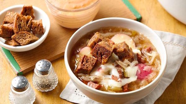 Soupe Reuben