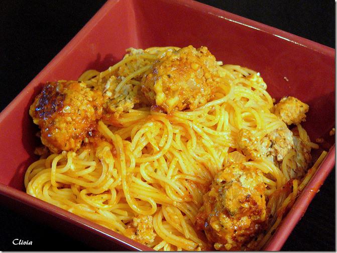 Spaghet Bolo aux Boulettes de Veau