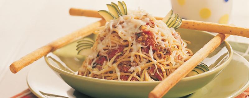 Photo Recette Spaghetti au Bœuf et Courgettes
