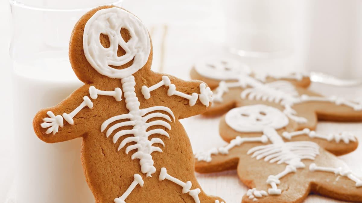 Squelettes de Pain D'épice