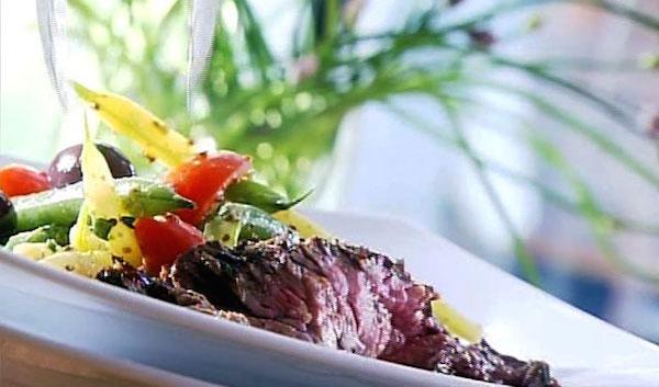 Steak de Flanc Mariné à L'asiatique