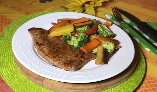 Steak et Sauté de Légumes 4