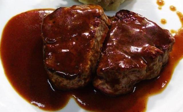 Steak Sauce au Vin Rouge et Vinaigre Balsamique