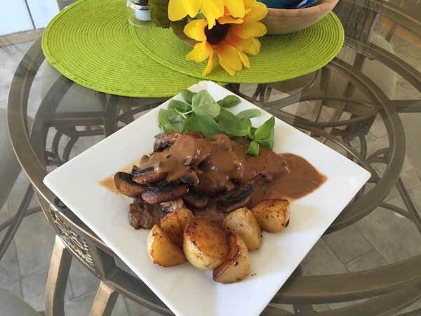 Steak sauce aux poivre 2