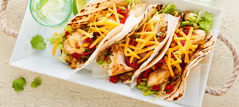 Photo Recette Tacos au Cheddar et au Poisson