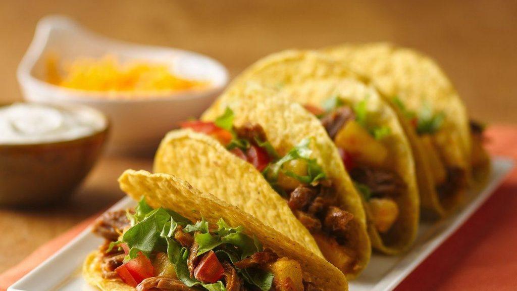 Tacos au Porc et à L'ananas à la Mijoteuse