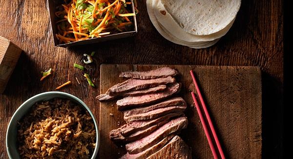 Tacos Coréens au Boeuf BBQ