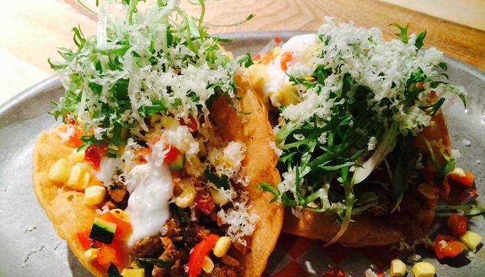 Photo Recette Tacos de Boeuf et Salsa de Maïs au Parmesan