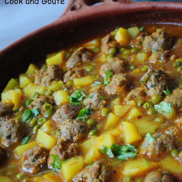 Photo Recette Tajine de Kefta aux Légumes