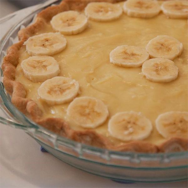 Tarte à la Banane à la Crème