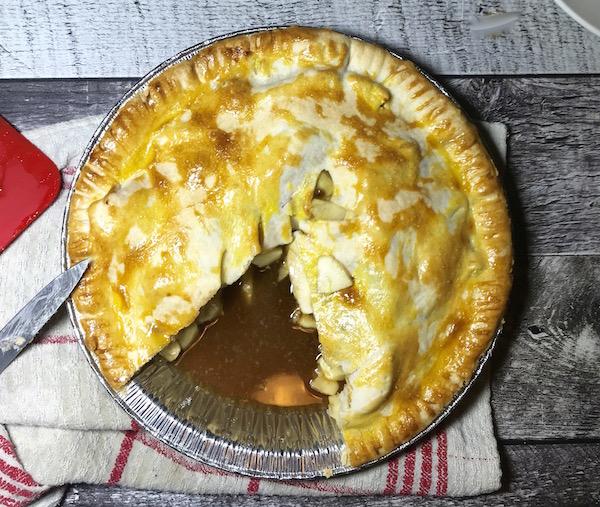 Tarte aux Pommes et Caramel à L'érable 2