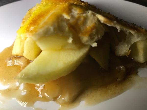 Tarte aux Pommes et Caramel à L'érable 5