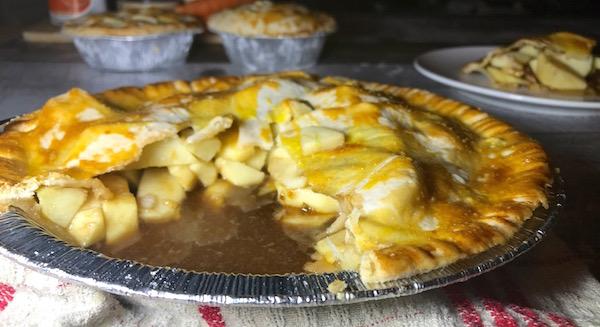 Tarte aux Pommes et Caramel à L'érable 8