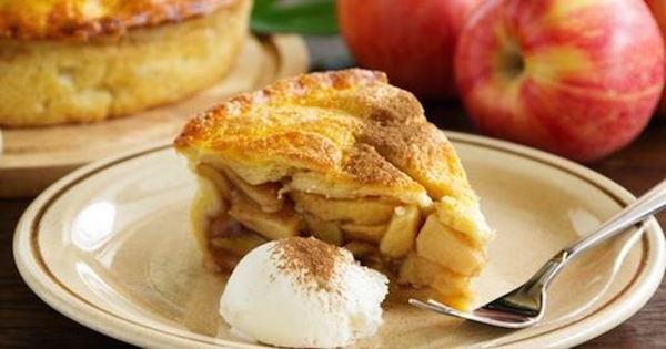 Photo Recette Tarte aux Pommes et Noix de Pécan à L'américaine