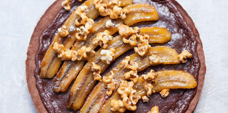 Tarte Chocolat Banane Pâte Sablée