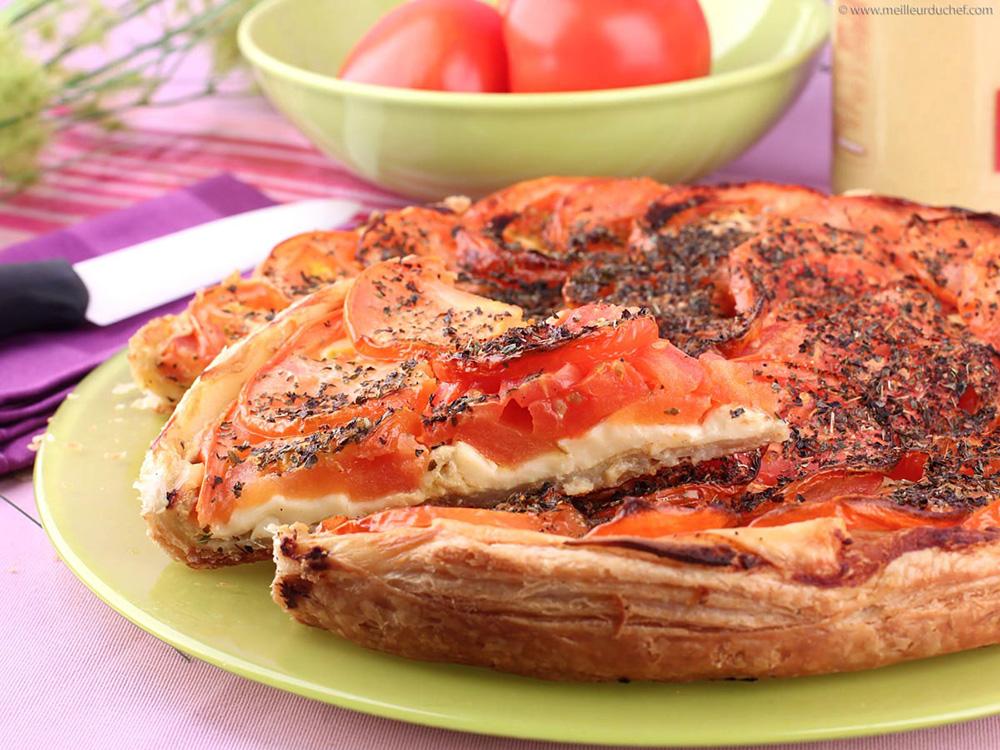 Tarte Tomate à la Moutarde