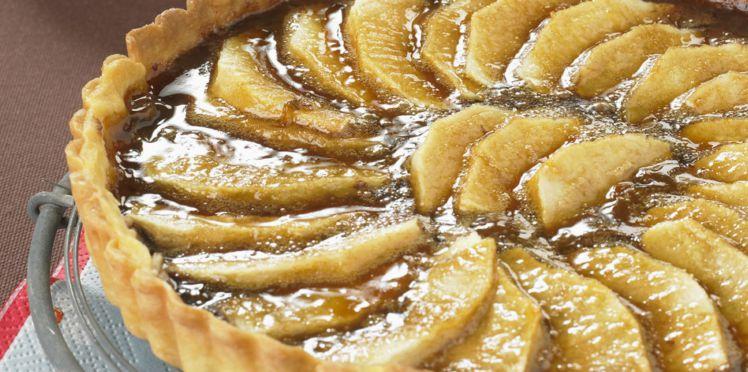 Photo Recette Tarte Pommes Bananes et Chocolat