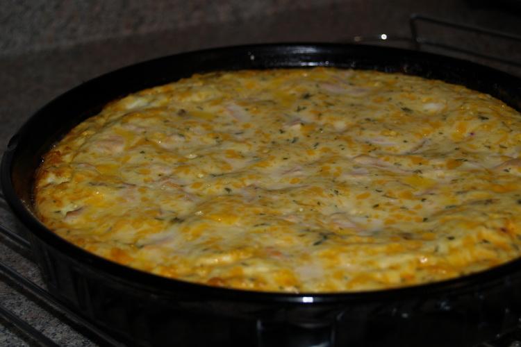 Tarte rapide aux œufs Sans Gluten