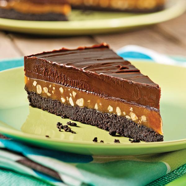 Tarte Sublime au Chocolat Caramel et Arachides