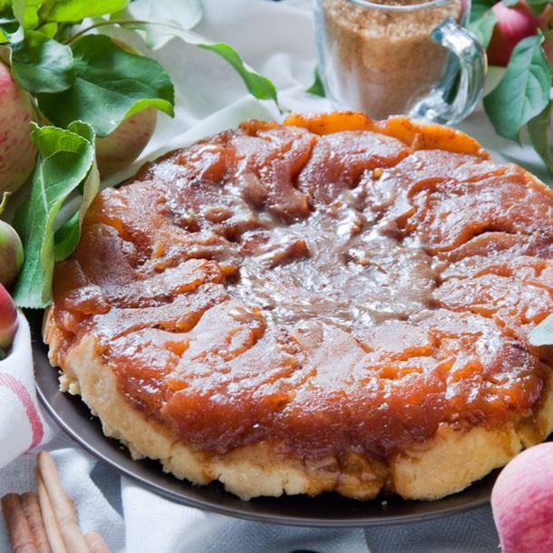 Tarte Tatin aux Pommes et Cottage Cheese Fait Maison