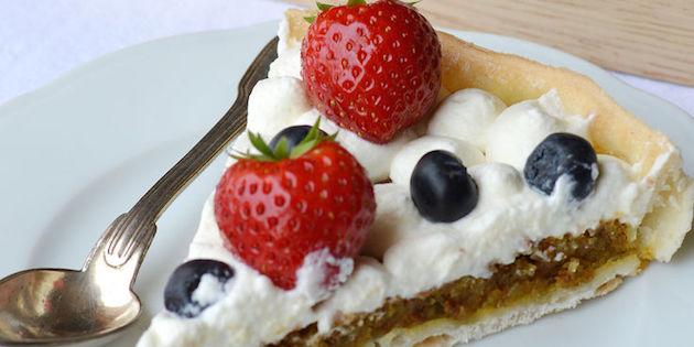 Tartes pistache Fruits Rouges Sans Gluten et Sans Lactose