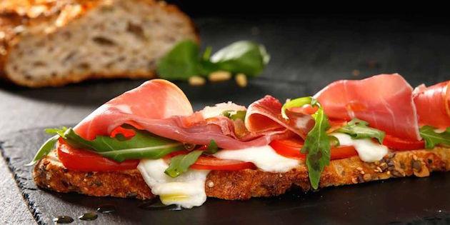 Tartine Tomate Mozzarella