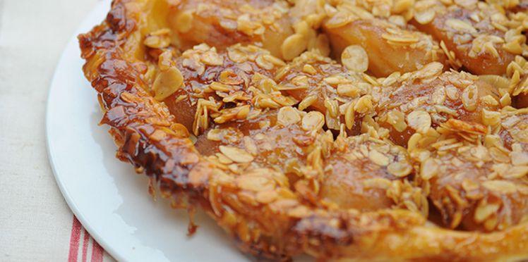 Photo Recette Tatin aux Pommes et aux Amandes