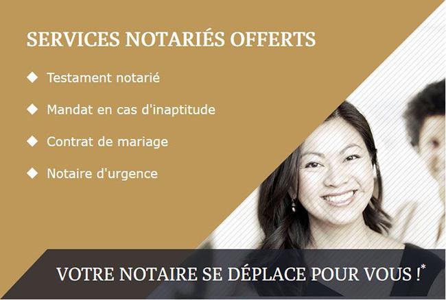 Testament notarié, notaire d'urgence Notaires Mobiles