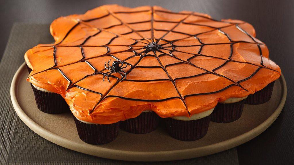 Toile D'araignée de Petits Gâteaux