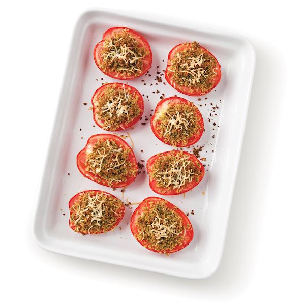 Photo Recette Tomates Gratinées aux Herbes et Parmesan