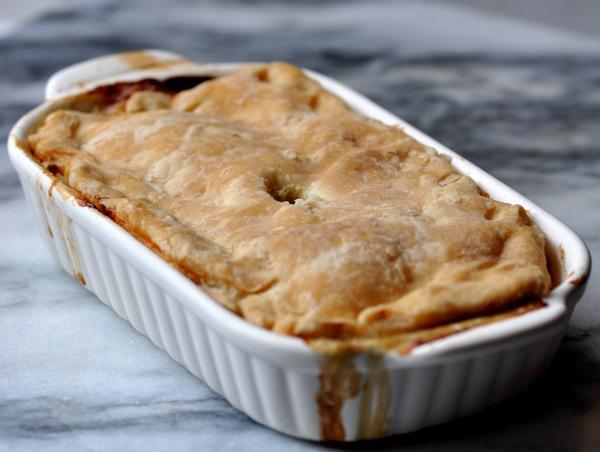 Recette Sans Gluten: Tourte (ou pâté) au Poulet et Légumes