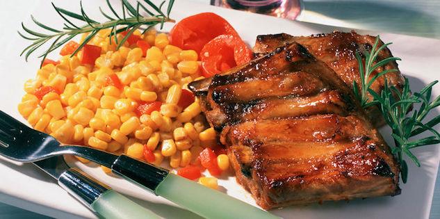 Travers de Porc Mariné et Rôti