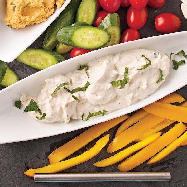Photo Recette Trempette Citronnée au Yogourt Grec