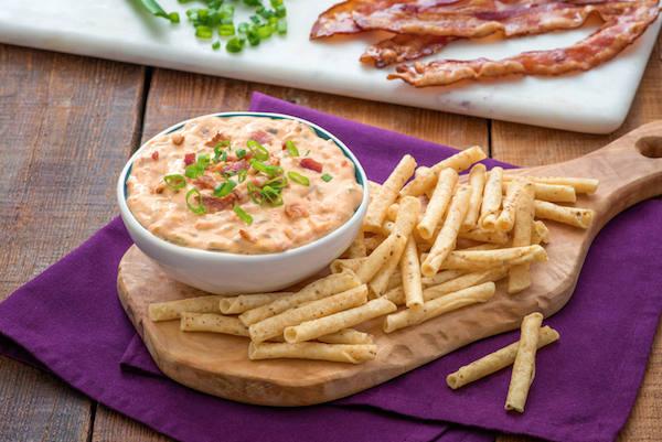 Trempette Salsa et Bacon