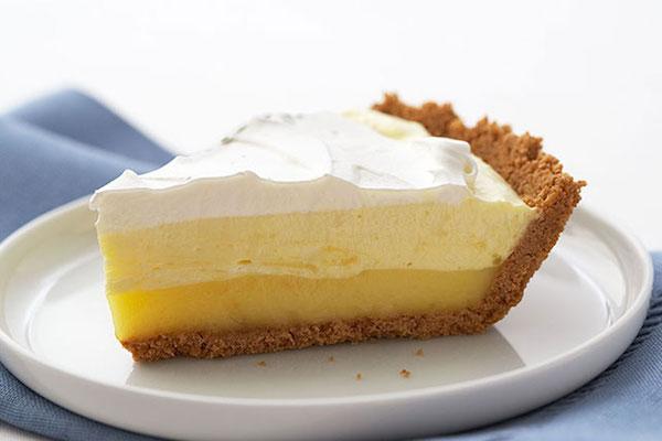 Photo Recette Triple-couche Lemon Pie