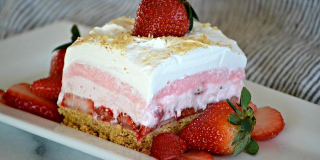 Photo Recette Un dessert aux Fraises sans Cuisson et à la Texture Onctueuse
