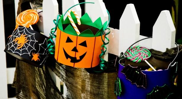 Un Panier à Bonbons Customisé pour Halloween
