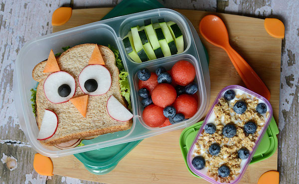 Une Boîte à Lunch Bento Hibou