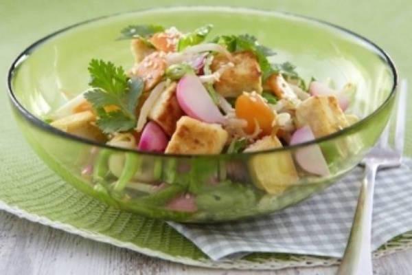 Recette de Wok de Légumes et dés de Tofu au Sésame