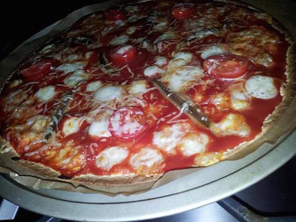 Wrap'izza Napolitaine *pizza façon wrap*