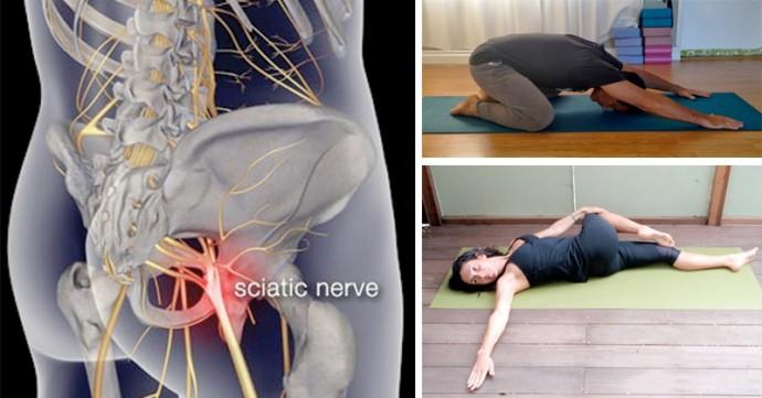 8 Postures de Yoga pour Soulager la Douleur Sciatique
