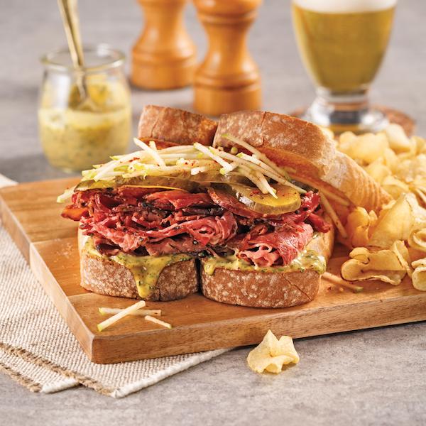 ZE Sandwich au Smoked Meat