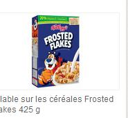 Coupon-rabais 1.00$ Sur Frosted Flakes