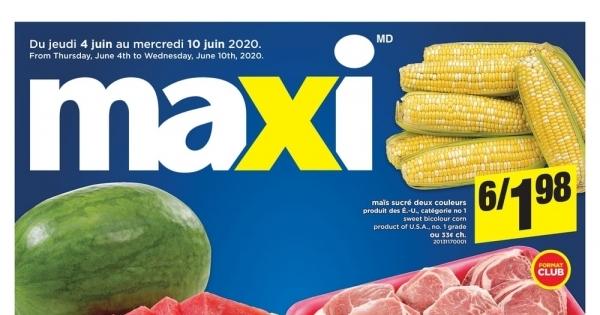 Circulaire Maxi du 4 au 10 Juin 2020