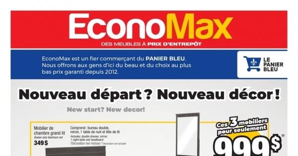 Circulaire EconoMax du 24 Juin au 22 Juillet 2020