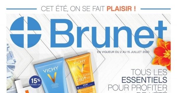 Circulaire Brunet - Pharmacie - Tous les essentiels pour profiter de l'été