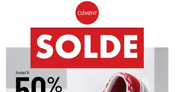 Jusqu'à 50% de rabais sur chaussures sélectionnées et encore plus