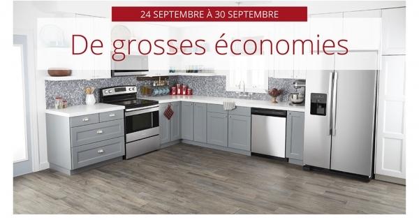 Circulaire Centre Canadien d'Electromenagers du 24 au 30 Septembre 2020